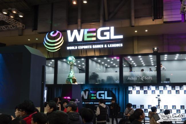 지스타 2017 WEGL, 삼성전자 오디세이 관심..