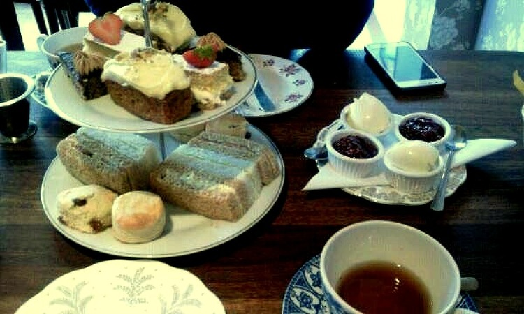 동네에 있었으면 좋겠는 티룸, The Tea Room..