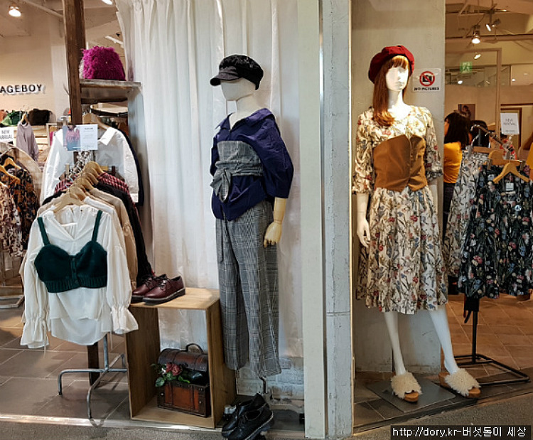 올가을 일본에서 유행하는 아이템 뷔스티에