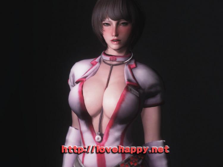 스카이림 의상 - 간호사 의상 partizan nurse clothes skyrim mod
