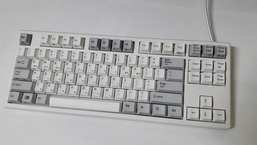 한성컴퓨터 CHL8 50g 무접점키보드