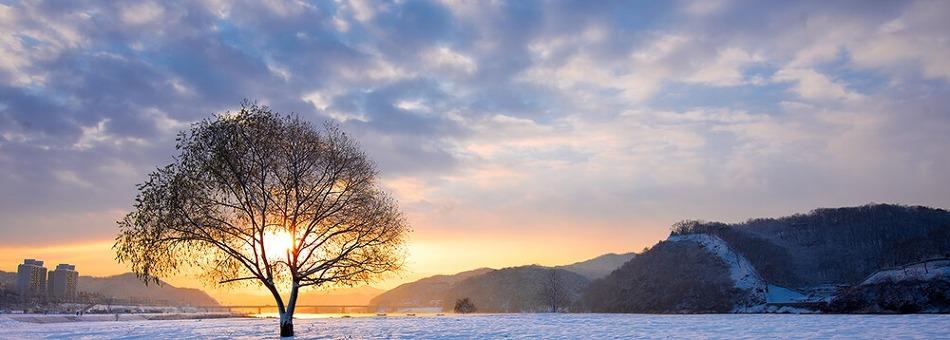 마지막 겨울여행 코스로 좋은 공주시의 설경명소를 소개합니다!