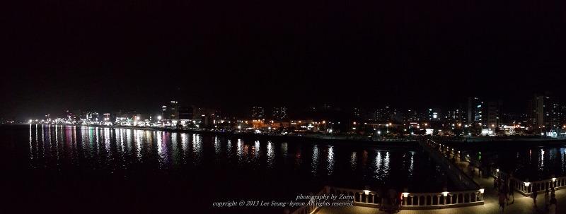 포항 영일대 해수욕장