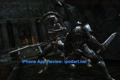 인피니티 블레이드 Infinity Blade II 아이폰 아이패드 액션 게임