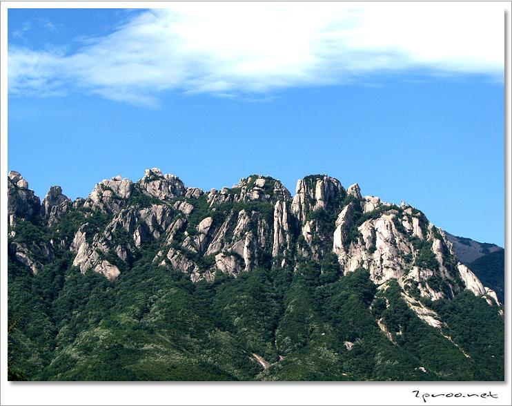 설악산 울산바위 사진