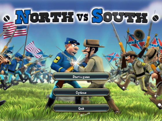 north vs south The bluecoats: north vs south for ipad, iphone, android, mac & pc fight with the blue coats during the american civil war.