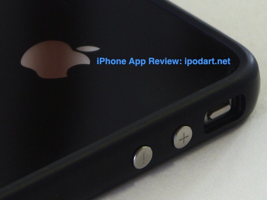 아이폰4 애플 범퍼 케이스
