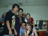 2004년 12월 17일 반 친구들과 함께