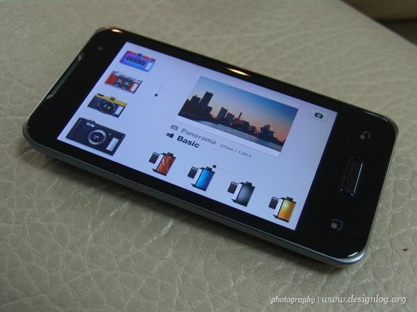 옵티머스 2X, 푸딩카메라 앱