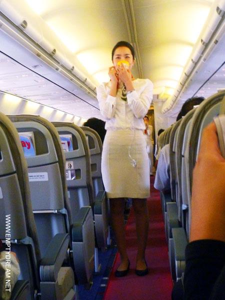 티웨이항공 미녀 스튜어디스