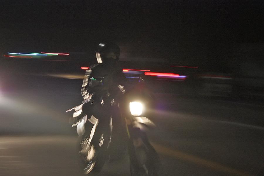 바이크로 달리자 - 야간 유명산 투어 : 130F6D3D4F6690A3339EC9