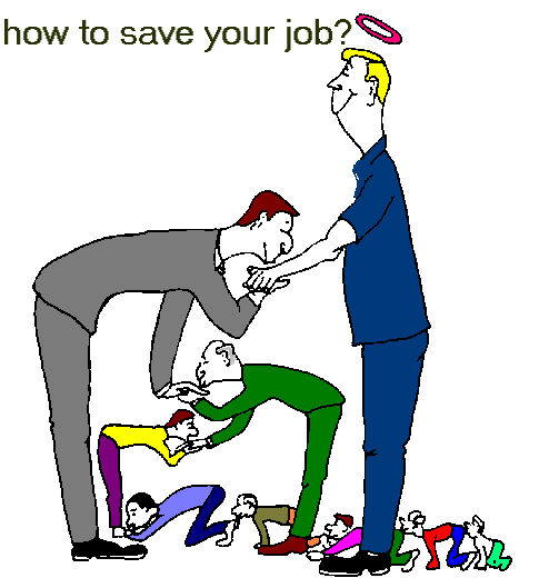 이미지 출처: 구글 이미지 검색, http://www.anvari.org/fun/Job/How_to_Save_Your_Job.htm