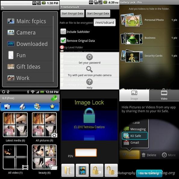 나만의 사진, 미디어 파일을 숨겨주는 안드로이드 앱