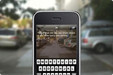 아이폰 어플 Type n Walk