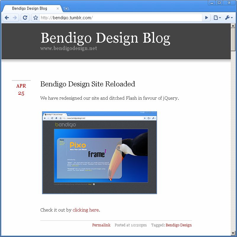 Bendigo Design Blog