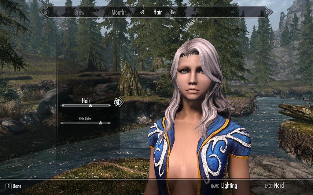 the elderscrolls5 skyrim hair