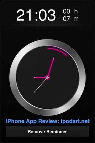 아이폰 알람 시계 dNext