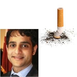 문제의 주인공과 원망스런 담배 ^^