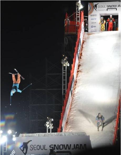 현대카드 슈퍼매치IX Snow Board City Jump