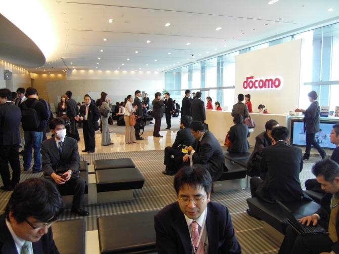 일본 NTT도코모 본사 로비