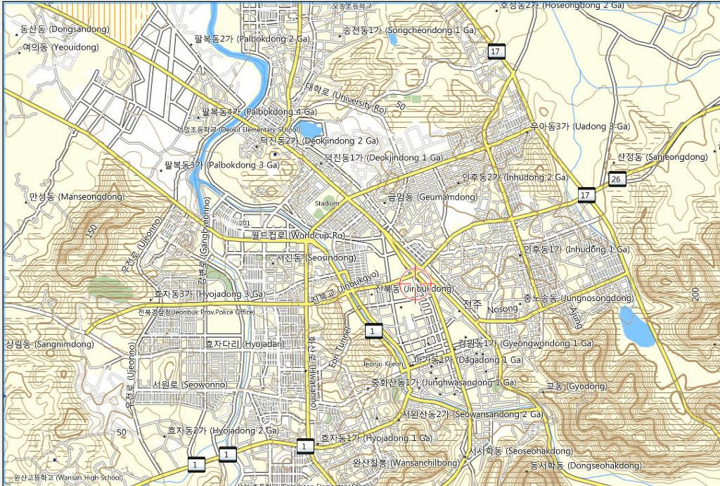MapSource에서 본 KOTMv2.5