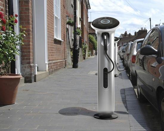 사진은 권력이다 Ge에서 만드는 거리 전기충전소 Wattstation 2011년에 선보인다