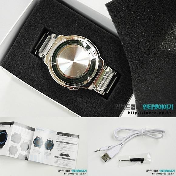 도쿄플래시 재팬 Kisai RPM SS LED Watch 블루 LED 패키지