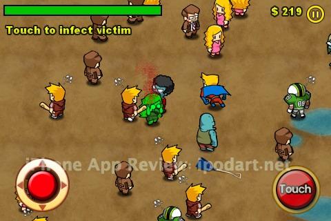 아이폰 아이팟터치 좀비 게임 infection zombies