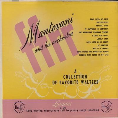 Www Olddisk Com Mantovani 1952 An Album Of