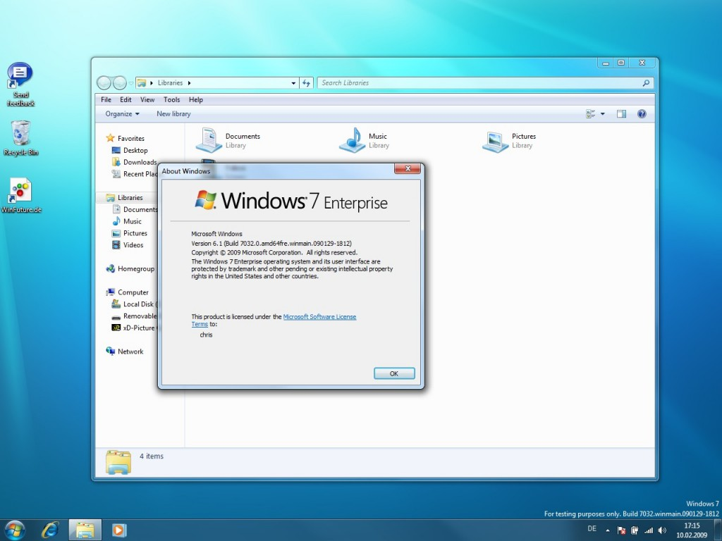 Windows 7 Build 7032 Screenshots 02