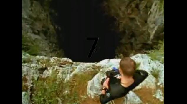 7위 동굴 점프