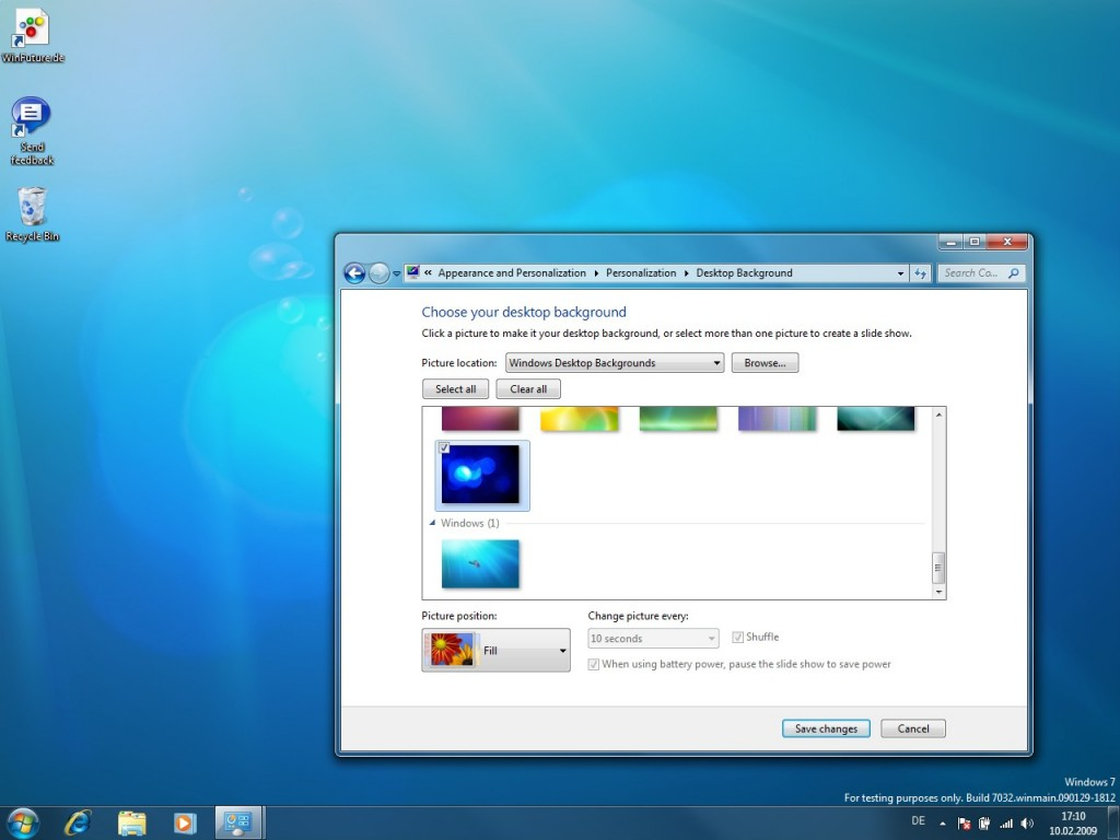 04 Windows 7 Build 7032 Screenshots