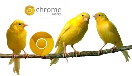 구글 크롬 카나리아