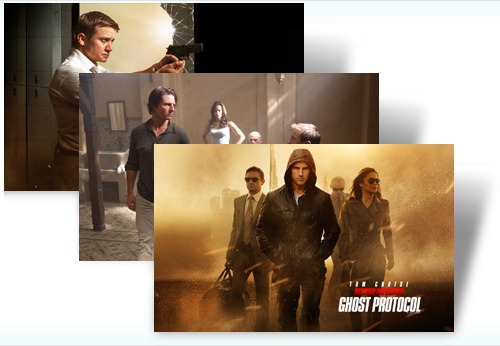 Tom Cruise returns to try and save the Impossible Missions Force in Mission: Impossible - Ghost Protocol. Your mission, should you choose to accept it, is to download the free Windows 7 theme and get a glimpse of the action and adventure that you can expect in the film.