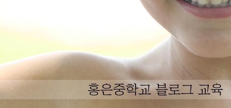 홍은중학교 블로그 강의