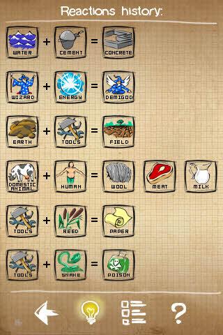두들갓 Doodle God 공략 140개 요소들을 발견하는 아이폰 게임 Wowapps