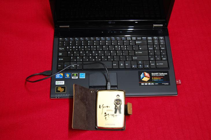 It, S2, s2 portable, samsung, SE, 가죽파우치, 기념품, 너에게 물들어간다, 리뷰, 사용기, 삼성, 설명서, 스페셜 에디션, 외장, 외장 하드, 외장하드, 이승철, 제품, 파우치, 패키지, 포터블