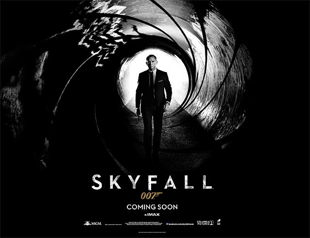 007 시리즈 스카이폴 티저 포스터