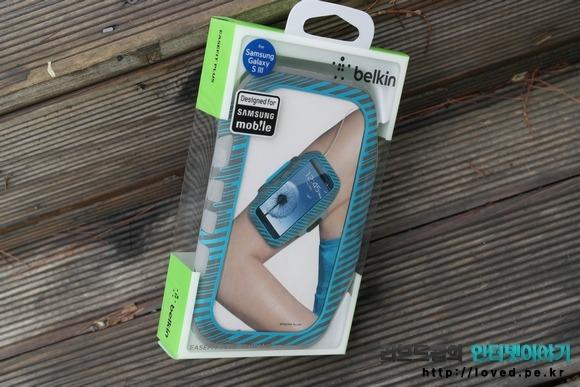 갤럭시S3 케이스 벨킨 이지핏 플러스 암밴드(EaseFit Plus Armband)