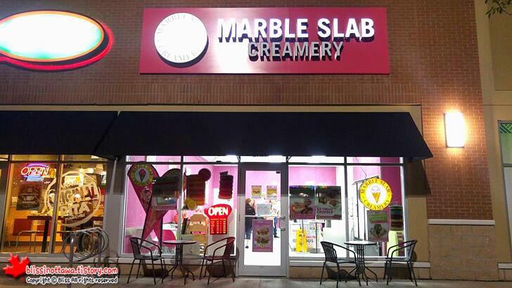 캐나다 Marble Slab Creamery