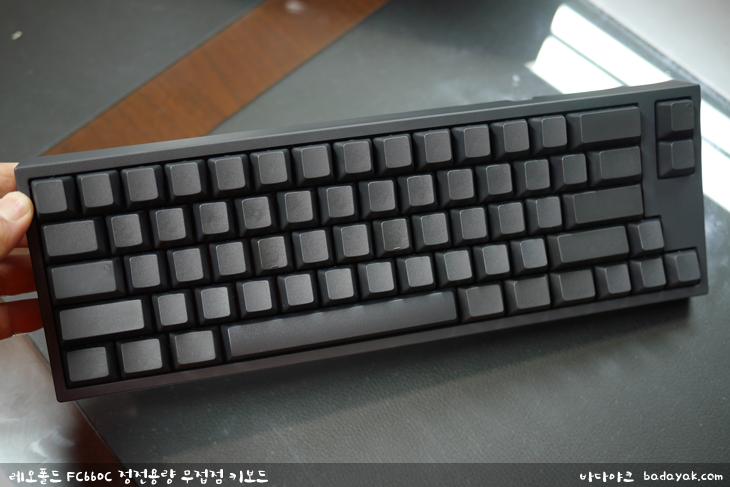 레오폴드 FC660C 정전용량 무접점 키보드 리얼포스 해피해킹 프로2