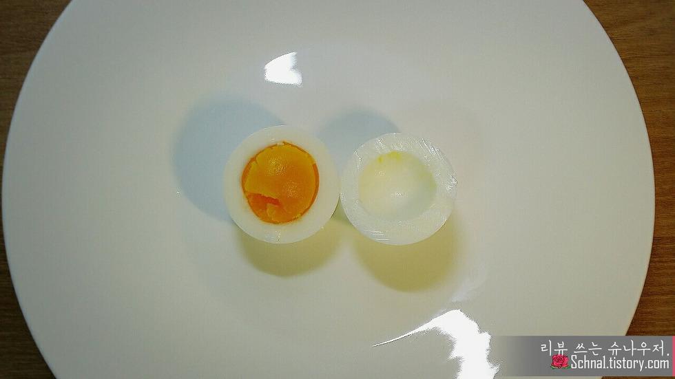 계란 노른자 반숙란