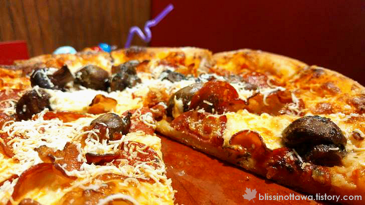 이태리 피자 입니다
