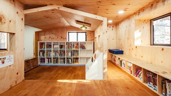 서울 이문동, 리모델링: 숲 속 작은 도서관