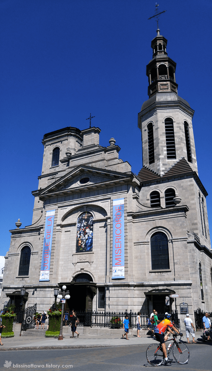 캐나다 퀘벡시티 퀘벡 노르트담 대성당