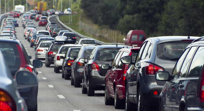 고속도로 교통체증