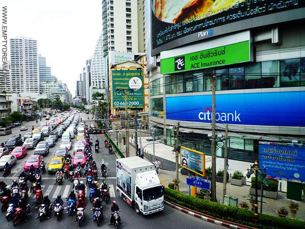 씨티은행 ATM기는 방콕 도심 쪽에 몇 군데 있다