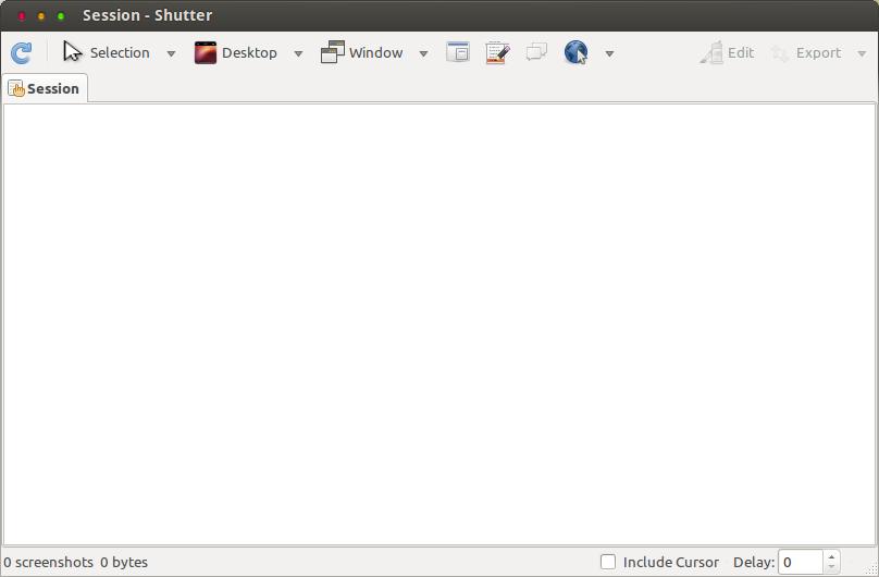 Shutter 메인 화면
