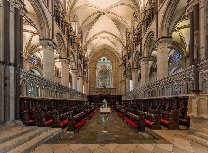 캔터베리 대성당 Canterbury Cathedral 내부