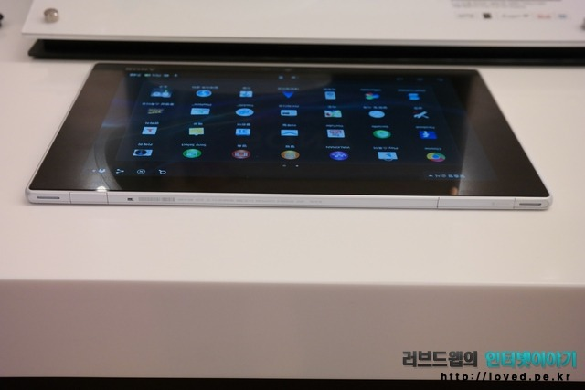 소니, 엑스페리아, 태블릿Z, 엑스페리아 태블릿Z, 태블릿PC, 태블릿, 디자인